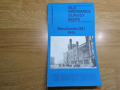 Old Ordnance Survey Maps The Godfrey Edition Manchester SE 1915