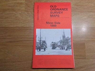 Old Ordnance Survey Maps The Godfrey Edition Moss Side 1889