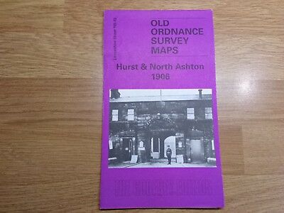 Old Ordnance Survey Maps The Godfrey Edition Hurst & North Ashton 1906
