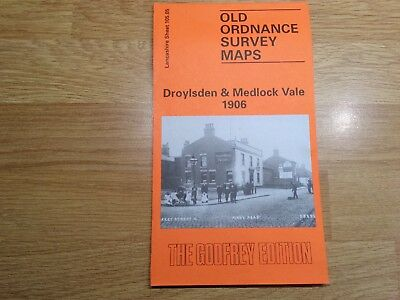 Old Ordnance Survey Maps The Godfrey Edition Droylesden & Medlock Vale 1906