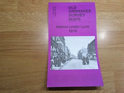 Old Ordnance Survey Maps The Godfrey Edition Ashton-under-Lyne 1916