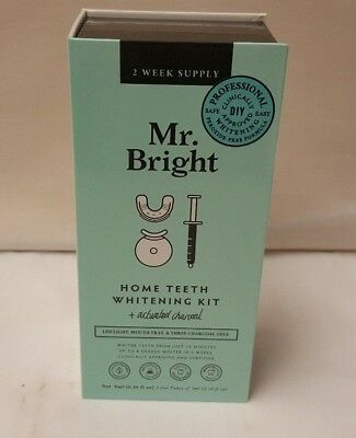 Mr. Bright home teeth whitening kit 2 week supply OL 87779