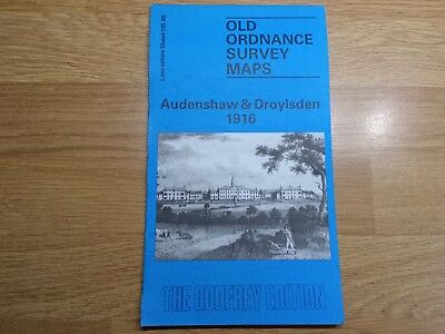 Old Ordnance Survey Maps The Godfrey Edition Audehshaw & Droylesden 1916