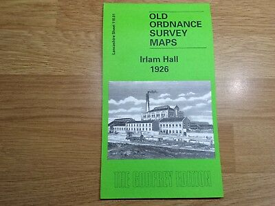 Old Ordnance Survey Maps The Godfrey Edition Irlam Hall 1926