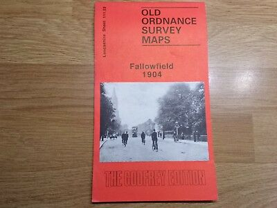 Old Ordnance Survey Maps The Godfrey Edition Fallowfield 1904