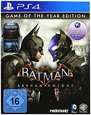 Batman Arkham Knight Game Of The Year GOTY PS4 Game