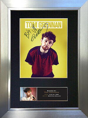 TOM GRENNAN Signed Autograph Mounted Photo Repro A4 Print 757