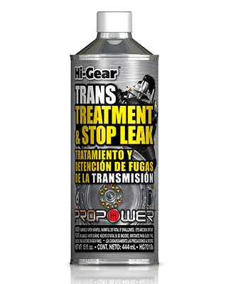 Genuine New Hi Gear Transmission Treatment & Stop Leak 444ml