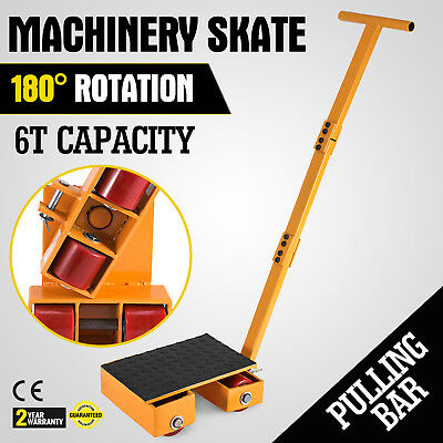 13000LBS Machinery Skate Machinery Mover Durable US Stock Heavy Duty
