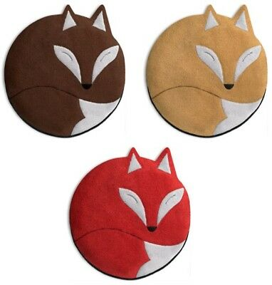 Luca the Fox Anti-Allergic Unscented Cosy Soft Fleece Tummy & Back Warmer Pillow