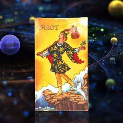 78 Radiant Rider Tarot Deck Cards Waite English Full Version