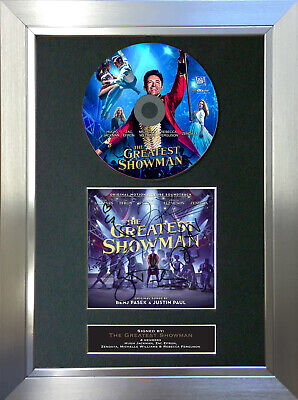 THE GREATEST SHOWMAN CD and Cover Signed Autograph Mounted Print A4 169