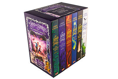 The Land of Stories: The Complete 6 Book Set By Chris Colfer, Grim Warning, The