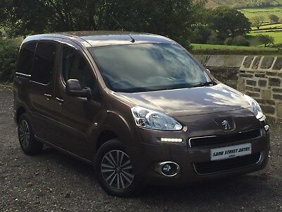 2013/63 Plate Peugeot Partner Tepee 1.6 HDI Wheelchair Accessible Vehicle Auto