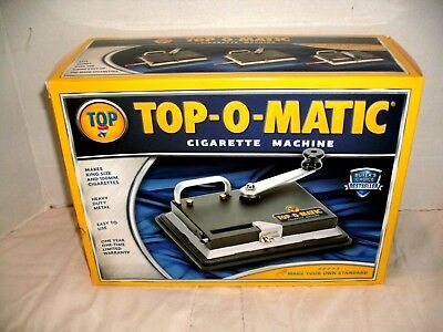 Top-O-Matic Cigarette Rolling Machine New Other