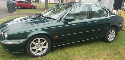 X Type Jaguar in Beautiful Racing Green