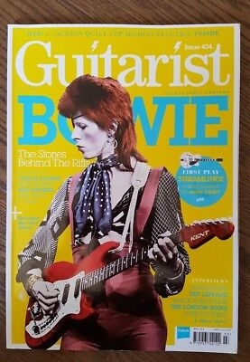 Guitarist magazine David Bowie collectors edition front cover march 2016