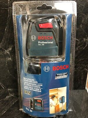 NEW Bosch Professional GLL 30 ft Self Leveling Cross Line Laser
