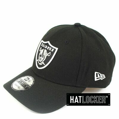 New Era - Oakland Raiders White Pop Curved Snapback