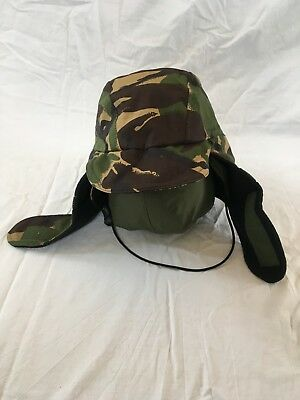 5b40c80be37 British Army GENUINE DPM Cold Weather GORE-TEX Cap Trapper Hat Fishing  Camping