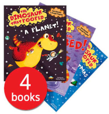 The Dinosaur That Pooped Collection - 4 Books