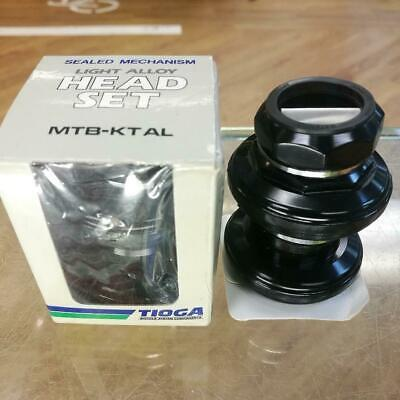 Tioga MTB-KT AL 1 Inch Treaded Old School MTB Headset Black New Old Stock