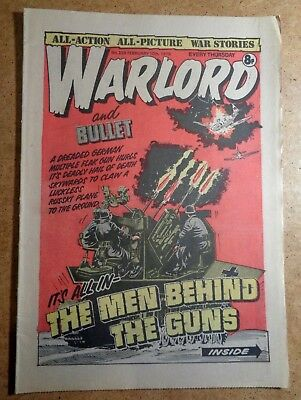 Warlord Comic No.229 10th February 1979 D.C. Thomson War Action British