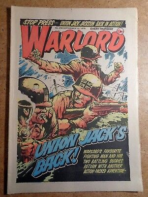 Warlord Comic No.258 1st September 1979 D.C. Thomson War Action British