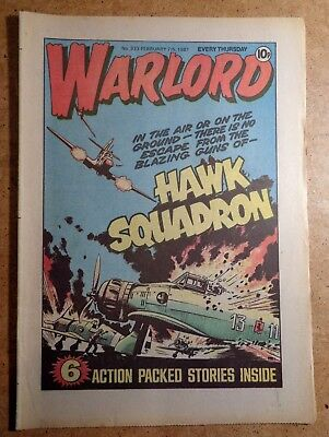 Warlord Comic No.333 7th February 1981 D.C. Thomson War Action British