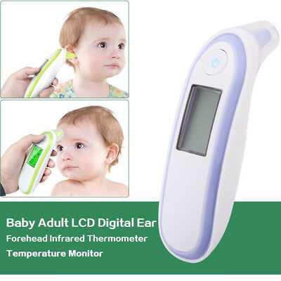 New Ear Thermometer Digital For Adult Baby IR In-Ear Infra Red LCD TemperatureUK