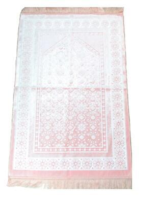 Muslim Islamic Pray Mat Thick Boxed Luxury Madina Made Prayer Salah Namaz Rug