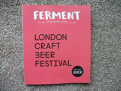 FERMENT magazine LCBF special London Craft BEER Festival edition NEW