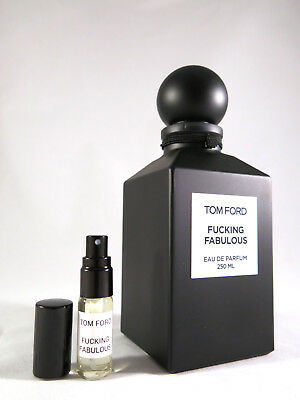 *NEW* TOM FORD - Fucking Fabulous- 5ml - sample/ decant - 100% GENUINE+LIMITED