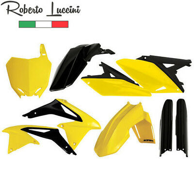 Suzuki Plastik Kit Satz FULL Komplett RMZ 250 Replik 2014 Acerbis Made in Italy