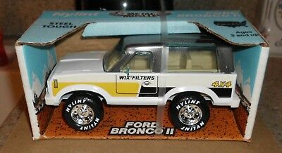 Nylint Ford Bronco II Metal Muscle Wix Filters 4x4 NEW in Box 1980s Steel 8110
