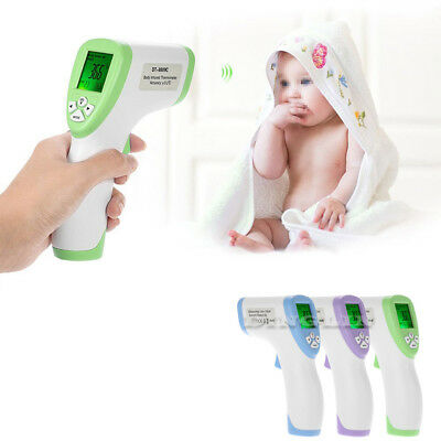 Forehead Body Digital Non-contact IR Infrared Thermometer LCD Temperature Meter