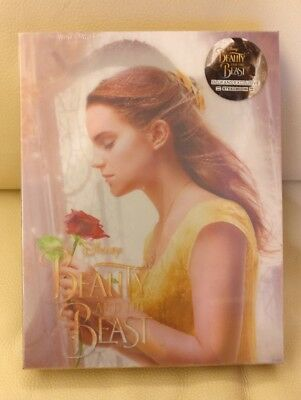 Beauty and the Beast Blufans Blu-ray Steelbook, Sealed/Mint, Single Lenticular