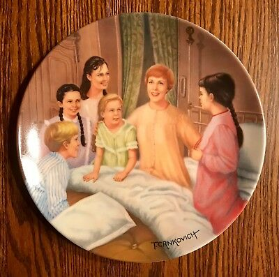 """The Sound Of Music """"MY FAVORITE THINGS"""" Knowles Collectors Plate Numbered w/ COA"""