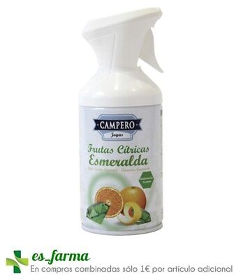 Campero Ambientador Spray Frutos Citricos Esmeralda 250Ml