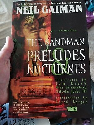 The Sandman Volume One preludes and nocturnes