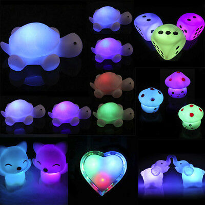 LED Animals Design Night Light Lamp Kids Colorful Gift Bedroom Party Decor 084