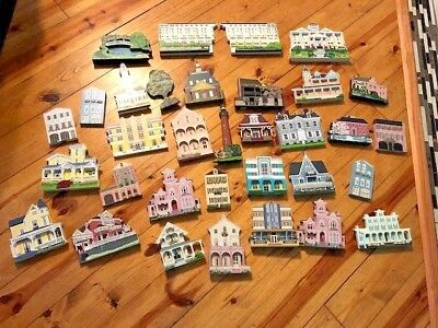 30+ HUGE LOT OF ORIGINAL Sheila's Collectibles Houses