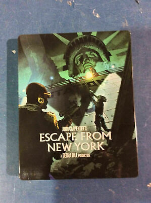 Escape From New York - Limited Edition Steelbook [Blu-ray] AS IS!!(e)