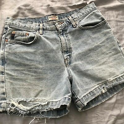 Vintage 90's Womens Guess Jean Shorts Size 31
