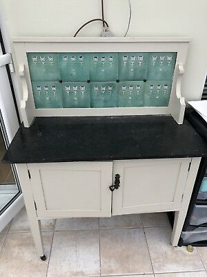 Vintage Shabby Chic Wash Stand Table