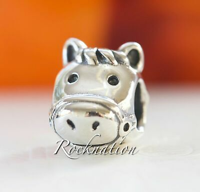 New Authentic Pandora Sterling Silver Happy Horse Charm #791744 **RETIRED**