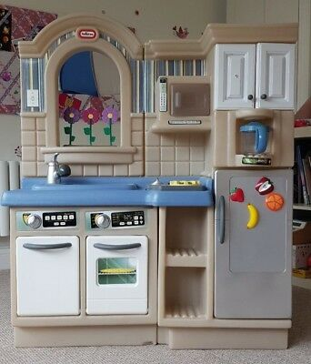 Little Tikes Inside Outside Cook N Grill Play Kitchen 18 00 Picclick Uk