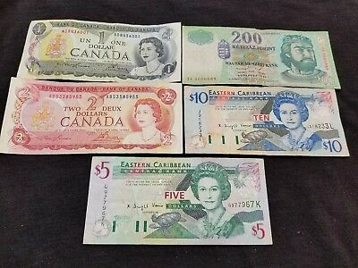World Currency  Circulated  in Great shape