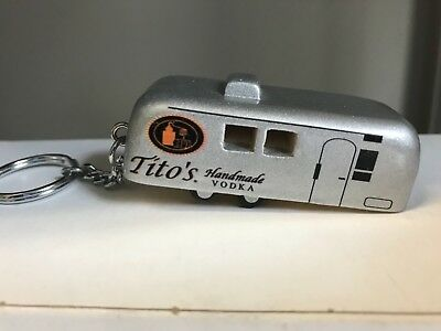 Titos Vodka Airstream trailor key chain
