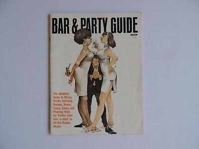 Cocktails and Humor Naughty Bar & Party Guide 1972.